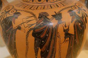 Posédon et Zeus issus du Titan Cronos