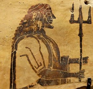 Poseidon. Louvre Museum
