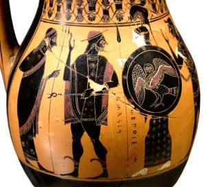 Poseidon , Hermes and Athena - Louvre Museum