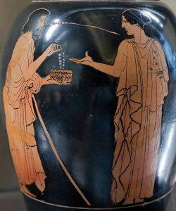 La trahison d'Eryphyle - Musée du Louvre