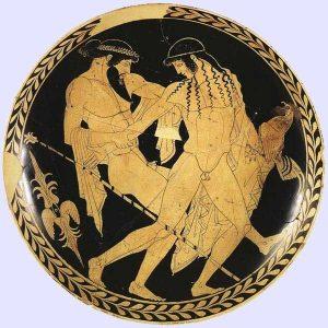 Ganymede and Zeus - Ferrara Archaeological Museum